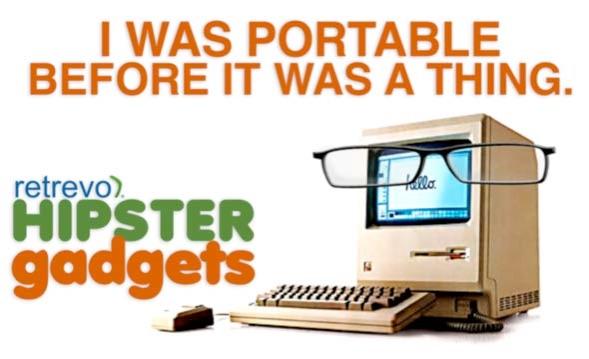 hipster gadgets aka egotistical electronics. Black Bedroom Furniture Sets. Home Design Ideas